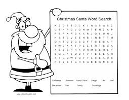 medium level printable christmas word search puzzles 541458