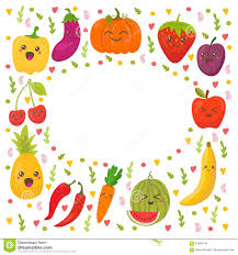 fruits u0026 vegetables clipart happy pencil and in color fruits