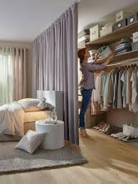 Curtains For A Room Dressing Quelles Configurations Possibles Closet Curtains