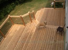 cedar decks in ottawa a deck and fence company composite or wood