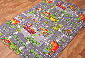 Kid Play Rug 64 Play Rugs With Roads Hearthsong Reversible Roadway Play