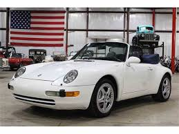gold porsche convertible 1996 porsche 911 for sale on classiccars com
