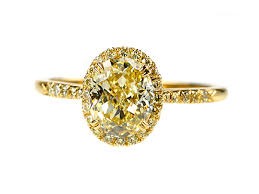 yellow gold diamond rings 1 4 carat fancy canary yellow diamond wedding band ring solid high