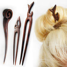 hair sticks wood hair stick ebay