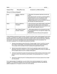 Soapstone English Template Tenth Grade Lesson Introduction To Rhetorical Appeals And Writing