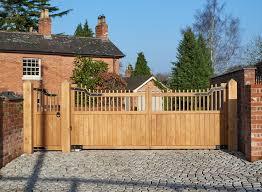 automatic gates wooden u0026 metal gates uk electric gate company