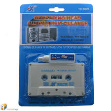 audio tape cassette head cleaner kit wet solution maintenance