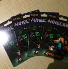 where to buy minecraft gift cards minecraft gift card toys on carousell