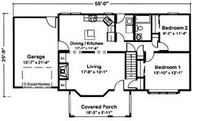 Drawing Floor Plans In Excel Cape Vincent By Excel Modular Homes Cape Cod Floorplan