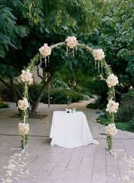 Wedding Arches Columns Wedding Arch With Hints Of Sage And Lavender Wedding U0026 Events