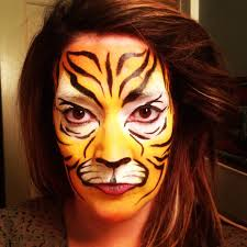 tiger makeup ideas