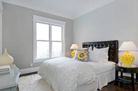 Light Grey Bedroom Walls Guest Bedroom Traditional Bedroom San Francisco By Cardea