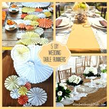 diy table runner ideas diy table runner ideas no sew table runner collage diy wedding table