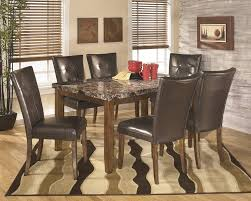 marble dining room set 7 faux marble dining set sam levitz furniture