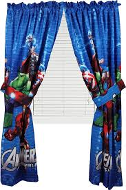 Curtain Drapes Amazon Com Marvel Avengers Assemble Window Panels Curtains Drapes