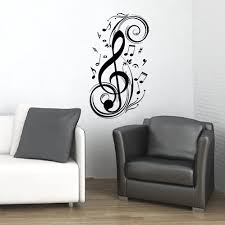 Music Note Decor 28 Black Music Notes Wall Art Items Similar To Music Notes