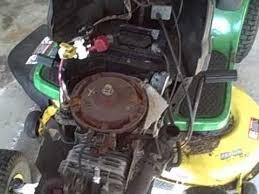 part 1 how to repair briggs john deere la115 19 5 hp engine