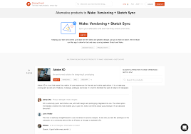 8 alternatives to wake versioning sketch sync product hunt