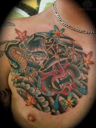 shoulder to chest tattoo 21 best samurai chest tattoos u0026 designs