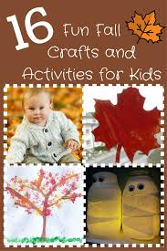 fun fall crafts and activities for kids healthy happy thrifty family