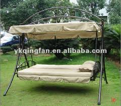 outdoor swing bed with canopy furniture design and ideas intended