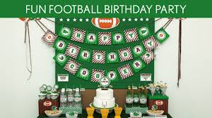 football party ideas football birthday party ideas football b117