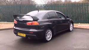 black mitsubishi lancer mitsubishi lancer evolution x gsr sst fq300 black 2011 youtube