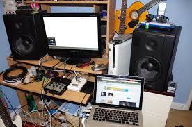 Bedroom Studio Setups My Bedroom Setup Atm By No1hoole On Deviantart