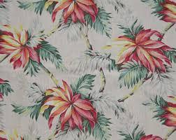 Hawaiian Curtain Fabric Tropical Curtains Etsy