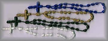 diy rosary rosary workshop service knotted cord rosaries and chaplets
