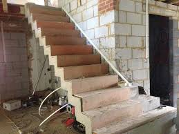 Cement Stairs Design Polished Concrete Stairs Smooth Concrete Stairs