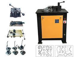 iron pattern bender ellsen ornamental iron machine manufacturer