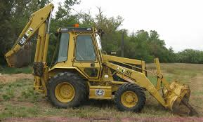 1991 caterpillar 426 series ii backhoe item e7889 sold