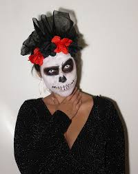 Halloween Makeup Dia De Los Muertos Halloween Makeup Dia De Los Muertos Living In B U0027s Shoes