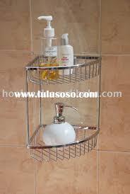wall mounted corner shower shelf
