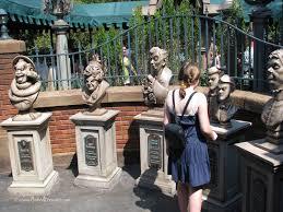new haunted mansion queue at magic kingdom is scary fun disney