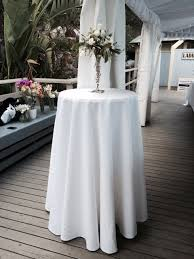 cocktail table linens home table decoration