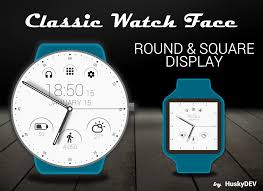 classic watch face android apps on google play