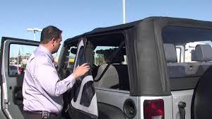 jeep wrangler 2 door soft top soft top removal on a 2011 jeep wrangler 2 door youtube