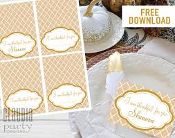 free printable thanksgiving place cards designs