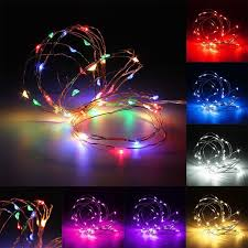 led fairy string lights 300cm multicolor mini led string lights battery operated copper wire l