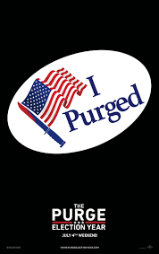 the purge election year movie poster movie posters pinterest