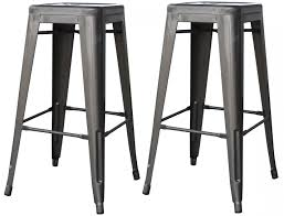 amerihome furniture homedepot 30 inch metal bar stools with back