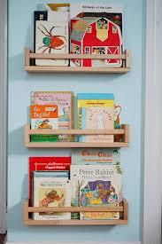 children bookshelves repurposing spice racks into children s bookshelves ikea hackers