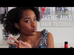 jhene aiko short hair hair jhené aiko curly hair tutorial youtube
