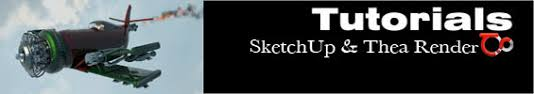 sketchup and thea render sketchup 3d rendering tutorials by
