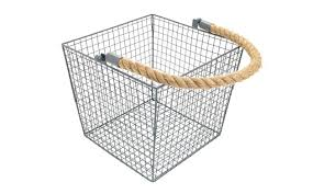 Sainsburys Bathroom Accessories by Set Of 2 Wire Baskets With Handle Sainsbury U0027s Home