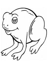 frog free coloring pages
