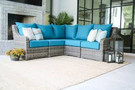 Outdoor Pation Furniture by Cherry Hill 5pc Sectional More Colors U2014 Ae Outdoor