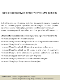 bunch ideas of accounts payable supervisor cover letter sample for